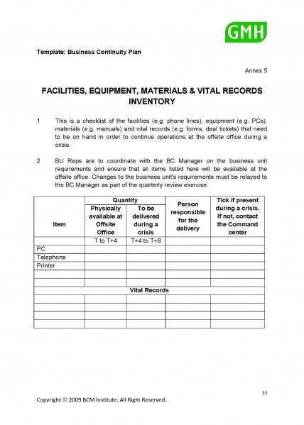 Filepd template facilities equipment materials and vital records filepd template facilities equipment materials and vital records inventory flashek Images